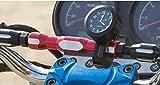 自転車 オートバイ バイク 黒文字盤アナログ 時計 バークロック 防水 ブラック色