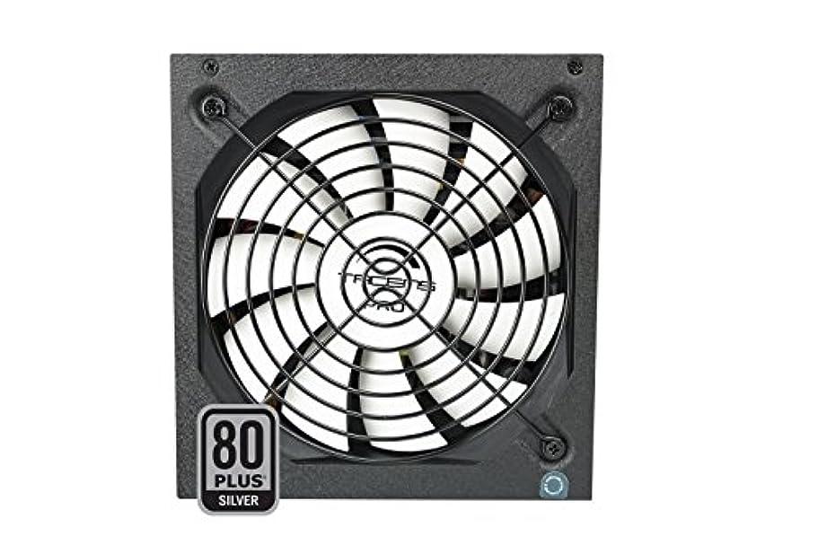 ベイビー顔料明らかTacens Radix VII AG 800W ATX 80PLUSシルバー電源、ブラック
