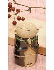 お地蔵様 香炉シリーズ 織部 お地蔵様 香炉 2.8寸 [H8.5cm] HANDMADE プレゼント ギフト 和食器 かわいい インテリア