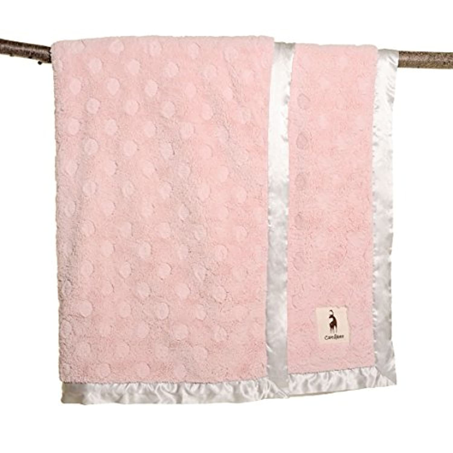 careAboo Luxury Dot Adult Blanket, 50 x 60 - Pink by careAboo