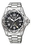 [シチズン] 腕時計 プロマスター エコ・ドライブ LANDシリーズ GMT BJ7100-82E メンズ シルバー