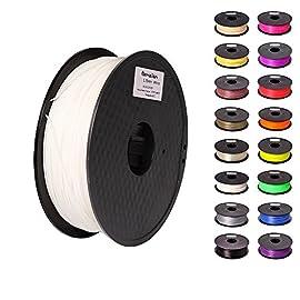 Pxmalion ABS 3Dプリンター用フィラメントは最高のABSフィラメントです!印刷はスムーズで順調的にします。色も光沢もきれいです。たくさんな色を選べます。 また、Pxmalion ABS 3Dプリンター用フィラメントについて、素材だけの重量は1KGです。製品重量は1.4KGです。コスパが超高い!\(*⌒0⌒)♪  プリントの性能  素材の性質上、ABSは、ホットエンドからしてみれば、非常にプリントしやすいプラスティックと言えます。どんなエクストルーダーでも滑らかに押し出されて、詰まった...