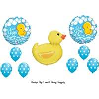IT'S A BOY RUBBER DUCKY BABY SHOWER Balloons Decorations Supplies Duck by Anagram by Anagram [並行輸入品]