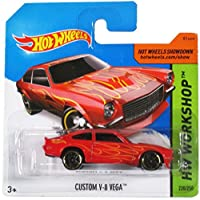 Hot Wheels Hw Workshop Red Custom V-8 Vega on Short Card 220/250