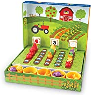 Learning Resources LER5553 Veggie Farm Sorting Set (46 Piece)