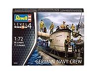 ドイツレベル 1/72 WWII ドイツ海軍クルー プラモデル
