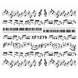 (ドリーミー ハット) Dreamy hut ネイルアートシール 超可愛い音符 DIY ネイルアートアクセサリー