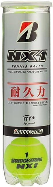 BRIDGESTONE(ブリヂストン) テニス ボール NX1 (1缶4球入)
