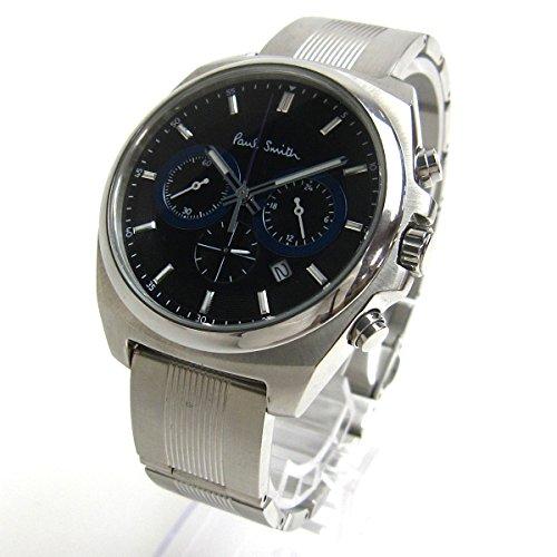 [ポール・スミス]Paul Smith 腕時計 ファイナルアイズ クロノグラフ 黒文字盤 watch メンズ 中古