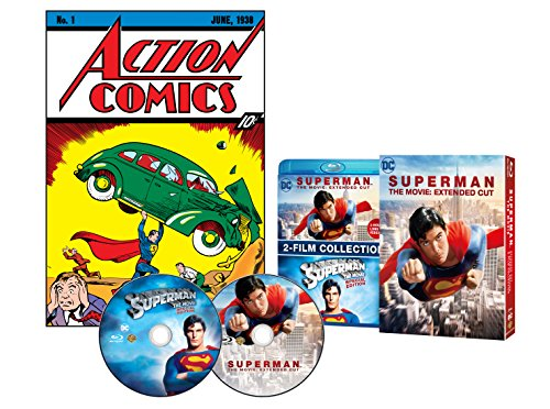 スーパーマン エクステンデッド・エディション(初回仕様/2枚組) [Blu-ray]