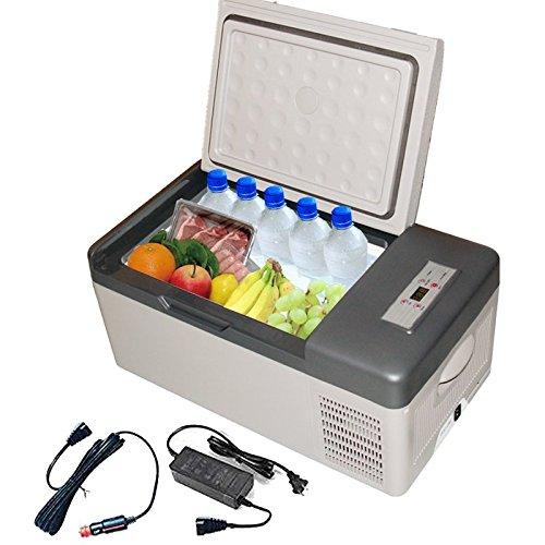 冷蔵冷凍庫 車載用 家庭用電源付き 車用 コンパクト 小型 ...