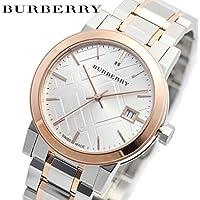 バーバリー BURBERRY 時計 腕時計 BU9105 The City レディース リストウォッチ (Silver/Pink Gold) [並行輸入品]