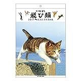 アートプリントジャパン 2017 飛び猫 カレンダー No.036 1000080284