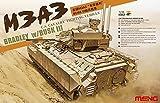 モンモデル 1/35 アメリカM3A3 ブラッドレーBUSKIII プラモデル