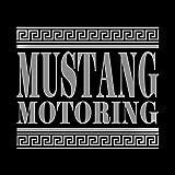 マスタング モータリング ステッカー シルバー 銀