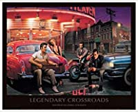 ポスター クリス コンサニ Legendary Crossroads 額装品 アルミ製ハイグレードフレーム(ホワイト)