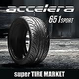 アクセレラ651SPORT 265/35R18 93W 新品サマータイヤ
