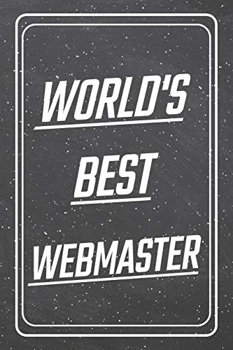 [画像:World's Best Webmaster: Webmaster Dot Grid Notebook, Planner or Journal | Size 6 x 9 | 110 Dotted Pages | Office Equipment, Supplies |Funny Webmaster Gift Idea for Christmas or Birthday]