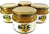 【送料無料】韓国高興産 柚子茶 580g入り×4本セット / ジーエムピー