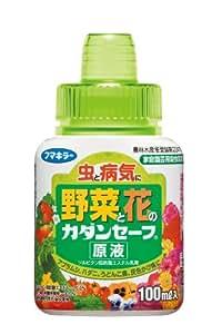 カダン 花と野菜のやさしい殺虫・殺菌剤 セーフ原液 100ml