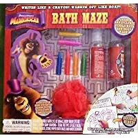 Madagascar Super Fun Fun!! Bath Maze Activity Gift Set [並行輸入品]