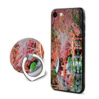 SuperIE IPhone 7 IPhone 8 専用 ケース スマホケース 携帯ケース リング付き 日本 風景 金閣寺 携帯カバー ソフト 耐衝撃 指紋防止 全面保護 スリム すり傷防止 スマホ アイフォンケース