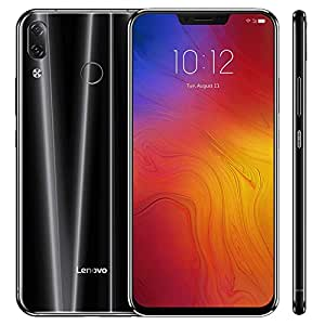 Lenovo Z5 新品 SIMフリースマートフォン 19:9HD(全画面) 6GB+64GB Snapdragon 636 オクタコア Android 8.1搭載 4G LTE携帯電話 ガラスボディ 16MP デュカメラ 3300mAh 高速充電 電力モード レノボスマートフォン 黒