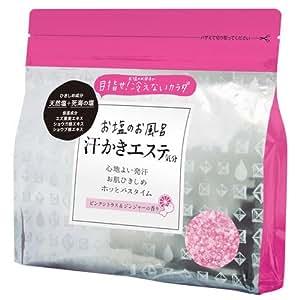 マックス 汗かきエステ気分 バスソルト ピンクシトラス&ジンジャーの香り 500g