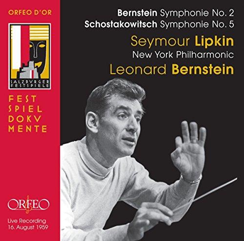 バーンスタイン:交響曲第2番「不安の時代」、ショスタコーヴィチ:交響曲第5番ニ短調 Op.47 (Shostakovich : Sym No. 5, Bernstein : Sym No. 2 / Lipkin, Bernstein, New York Philharmonic (1959 Live))