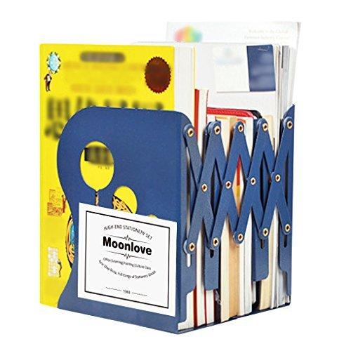 本立て 伸縮型 ブックエンド ブックスタンド 縦型 書類 ボックス オリジナル 本棚 雑誌/新聞/書類入れ ファ...