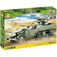 Cobi Small Army ミリタリーブロック WWII 第二次世界大戦 アメリカ軍 M16 対空自走砲 Half-Track #2469【COBI 日本正規総代理店】