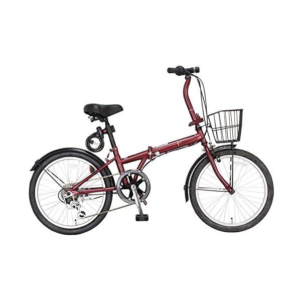 ジェフリーズ 自転車 折りたたみ自転車 20イン...の商品画像