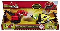Dinotrux Ty Rux & Revvit Pull Back Vehicle 2-pack