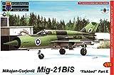 KPモデル 1/72 フィンランド空軍 MiG-21bis フィッシュベッド パート2 戦闘機 プラモデル KPM0102
