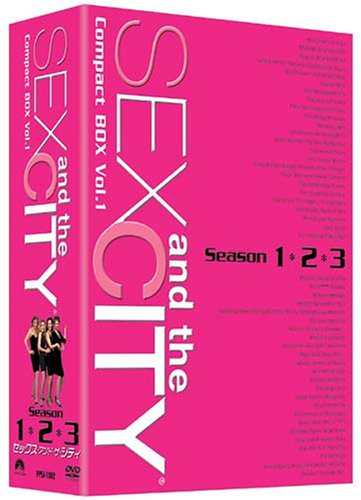 セックス・アンド・ザ・シティ コンパクトBOX vol.1 〈シーズン1・2・3〉 [DVD]