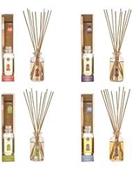 ガーネッシュ GONESH リードディフューザー 4つ(No.4、No.6、No.7、No.8)の香りが楽しめる4個セット 日本国内正規品
