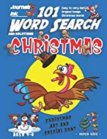 101 Word Search for Kids: SUPER KIDZ Book. Children - Ages 4-8 (US Edition). Blue Running Turkey. Christmas Words with custom art interior. 101 Puzzles w solutions - Easy to Hard Vocabulary Words -Unique challenges and learning for fun activity time! (Superkidz - Christmas Word Search for Kids)