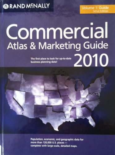 Download Rand McNally 2010 Commercial Atlas & Marketing Guide (Rand Mcnally Commercial Atlas and Marketing Guide) 052887800X