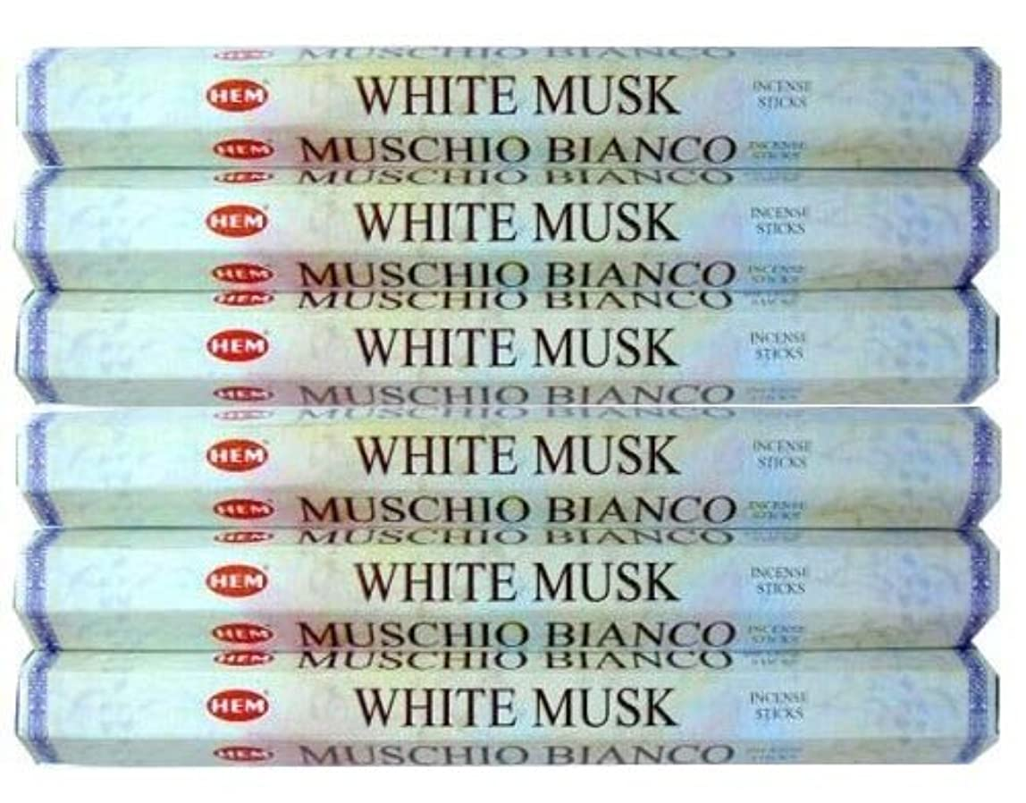 知性ドラム属性HEMホワイトムスク 6個セット