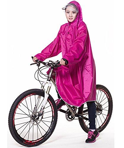 QIAN レインコート 自転車 バイク ロング ポンチョ 男...