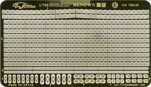 1/700 英海軍巡洋戦艦レナウン用エッチング