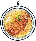 日本ユーテンシル ハンドタオル かつ丼 21cm おかしなタオル総本舗 日本食い道楽 どんぶりタオル ごはん処 COT0755805