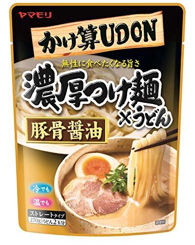 ヤマモリ かけ算うどん 濃厚つけ麺×うどん 豚骨醤油 270g×5袋