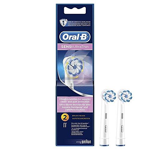 Braun Oral-B EB60-2 Sensi Ultra Thin 歯ブラシの頭 2Pcs [並行輸入品]