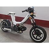 IceBear(アイスベアー) オリジナル110cc 二輪 バイク セミオートマ4速 白 キングコブラ XF110W