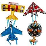 Moorecastle ポータブル 子供用 アウトドア 親子 インタラクティブ おもちゃ 漫画 飛行機 蝶 昆虫 ミニカイト 182044MoCA2582302343