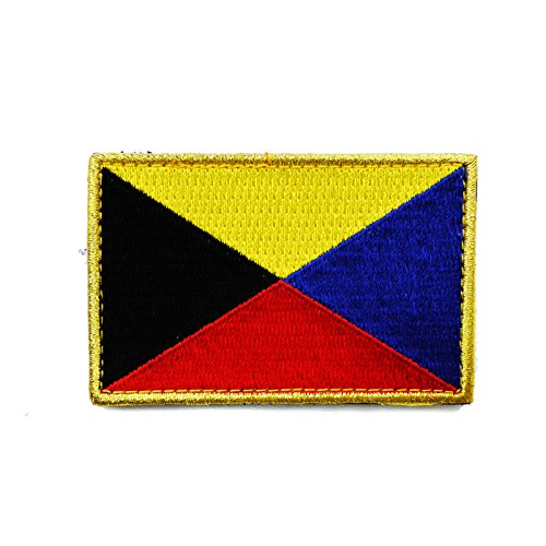 [해외]자위대 상품 해상 자위대 Z 깃발 전 해군 문장 5.0 × 7.0 벨크로 부착/Self Defense Force Goods Maritime Self Defense Force Z Flag Old Navy Patch 5.0 x 7.0 with Velcro