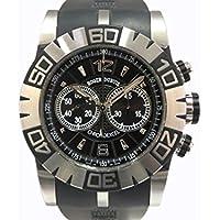 ロジェ・デュブイ イージーダイバー クロノグラフ SED46 78 C9.NCPG9 ブラック メンズ 腕時計 [並行輸入品]