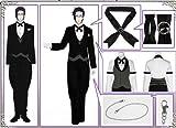 [webessence] コスプレ衣装 黒執事 クロード・フォースタス(Claude Faustus) 燕尾服 全セット 風 コスプレ コスチューム オリジナル ブレスレット 付き