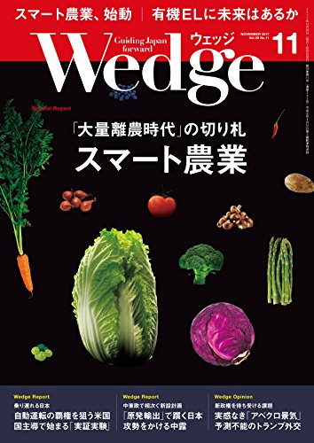 Wedge (ウェッジ) 2017年 11月号 [雑誌]